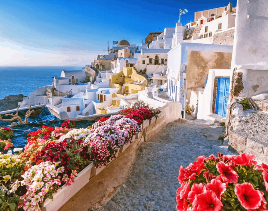 10+1 most photographed places in Greece 7