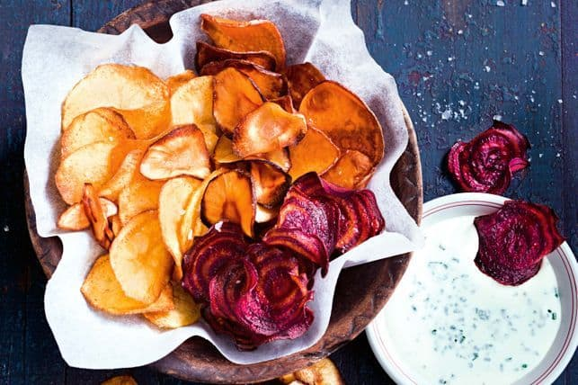 barra-masalata recipe roast vegetable crisps