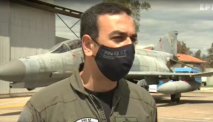 Greece's Anastasios Andronikakis named best pilot in NATO
