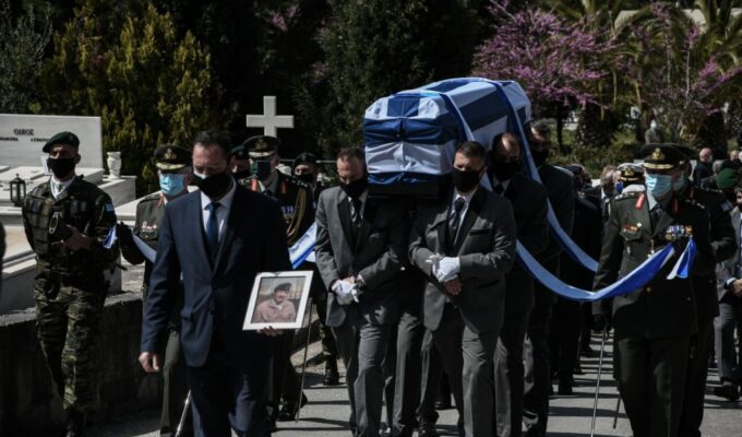 Greece's farewell to Iakovos Tsounis