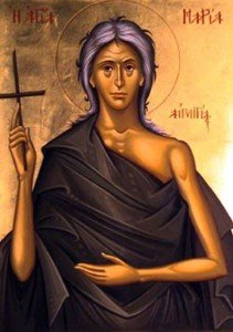 On this day, we commemorate our devout Mother Mary of Egypt 8