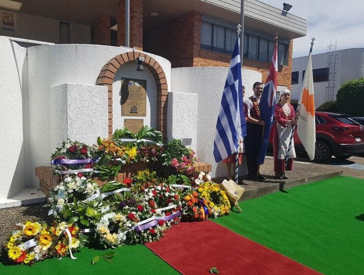 EOKA Struggle commemorated in Australian city of Brisbane 3