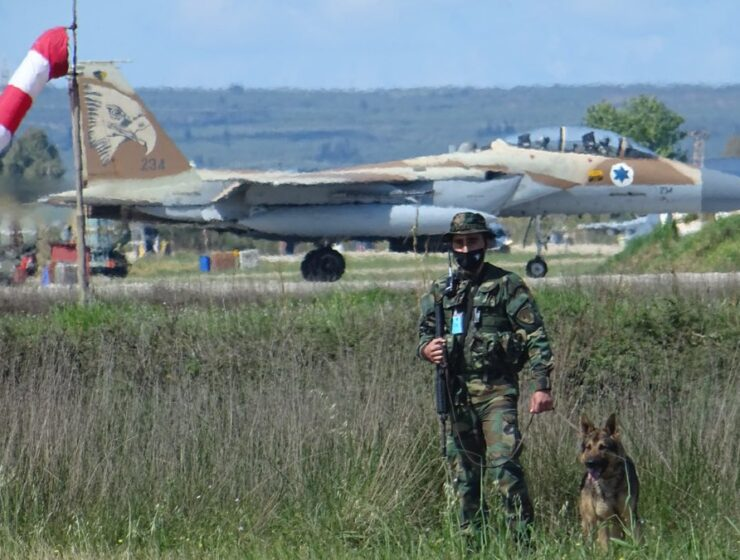 Israeli pilot: We conducted high-quality exercise in Greece 3