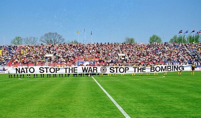 On This Day in 1999: AEK travels to Belgrade for solidarity match despite NATO bombing 5