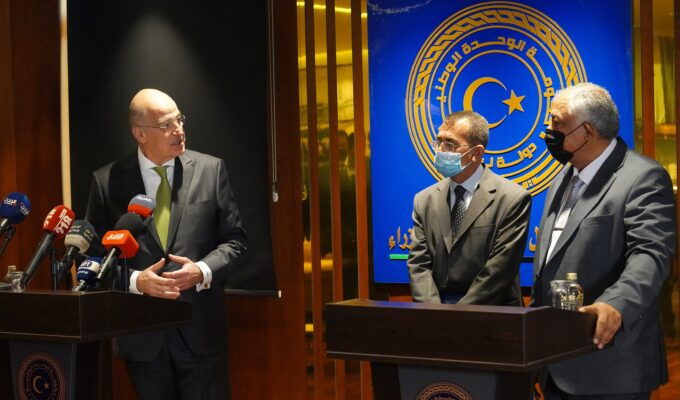 Dendias: Foreign fighters must leave Libya, we will assist in reconstruction 1