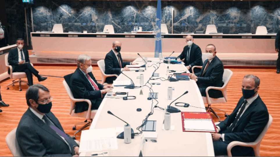 """Turkey finds no support in Geneva for """"two state solution"""" in Cyprus 1"""