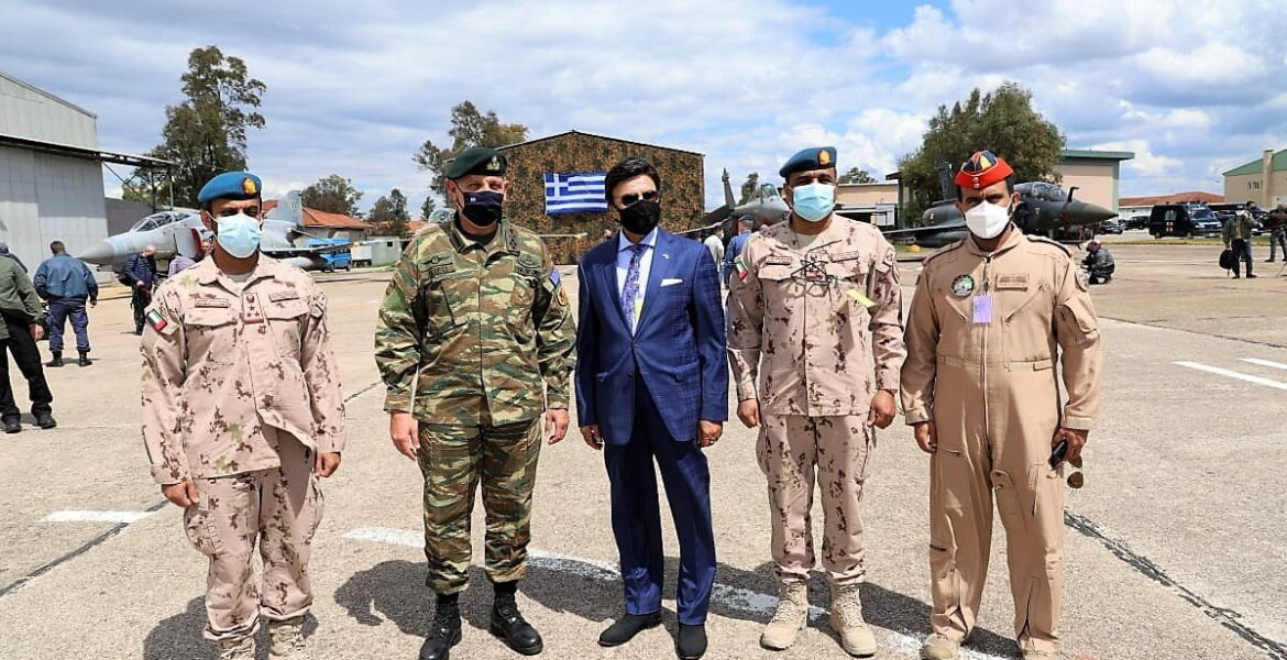 UAE Ambassador visits Andravida air base in southern Greece, meets with General Floros 1