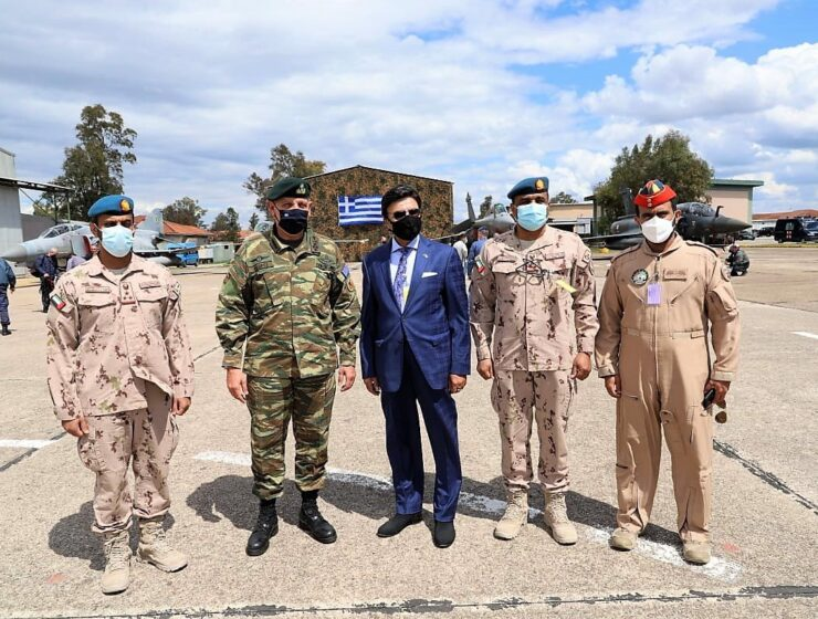 UAE Ambassador visits Andravida air base in southern Greece, meets with General Floros 3