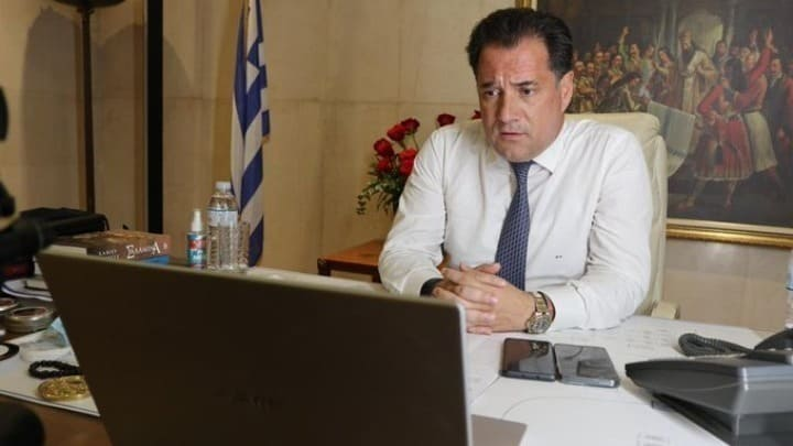 Development and Investment Minister Adonis Georgiadis