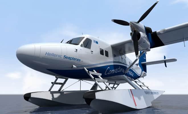 Hellenic Seaplanes to boost tourism in a big way