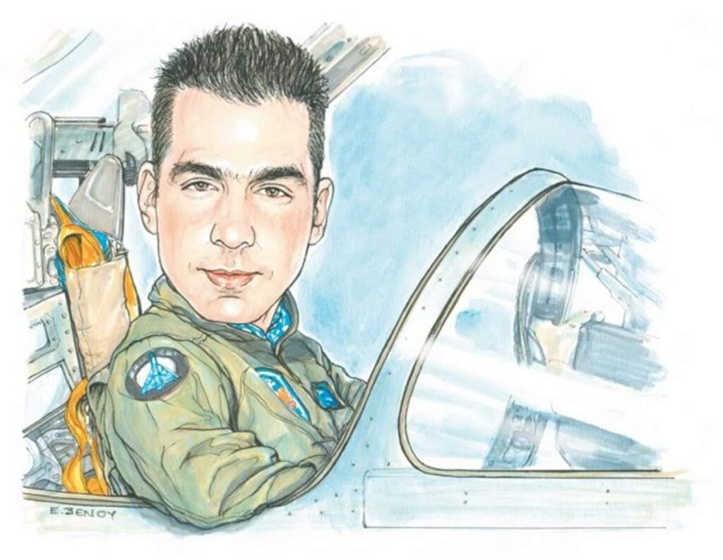 On this day in 2018, heroic Greek pilot Giorgos Baltadoros dies after intercepting Turkish aircraft