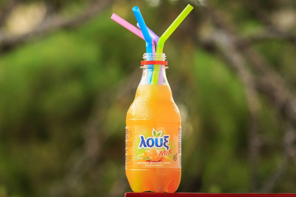 Loux, the No. 1 selling Greek soft drink