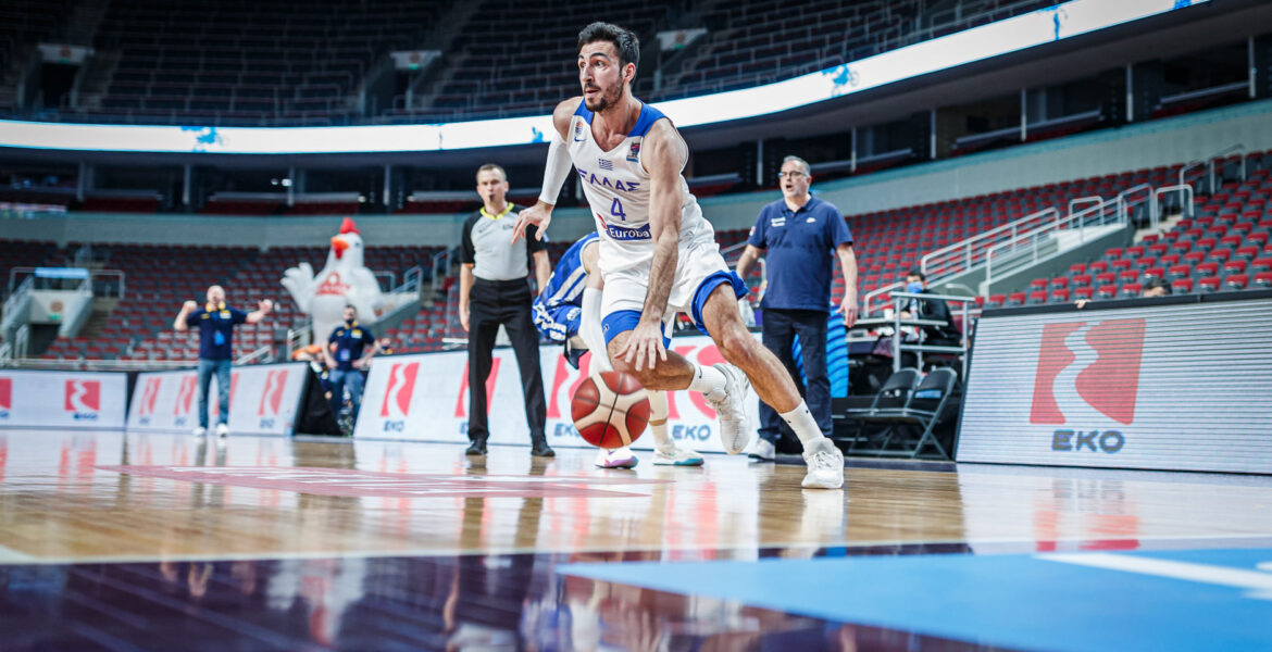 Greece drawn in Group C for EuroBasket 2022