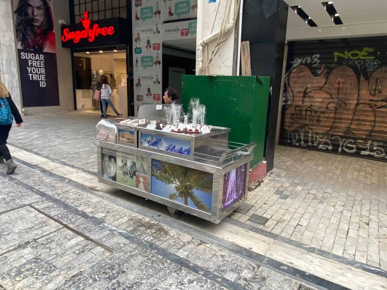 See Monastiraki and Ermou Street on the first day of partial retail reopening 17