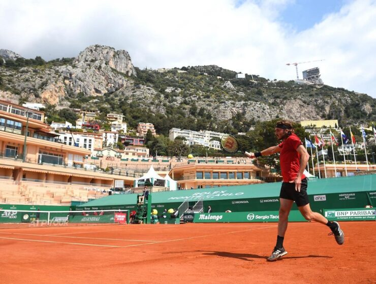 Tsitsipas storms past Garin to Monte Carlo quarterfinals