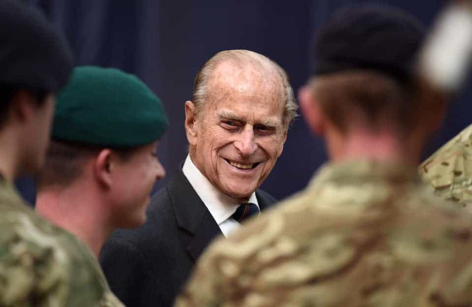 Prince Philip's personal flag will be draped over his casket