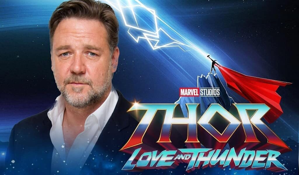 Russell Crowe will play Greek god Zeus in 'Thor: Love and Thunder'