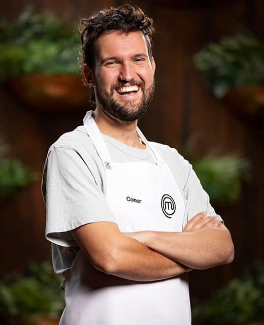 'I'm sure there's Greek grandmothers screaming at me right now' - MasterChef's Conor Curran unique 'cooking style' divides Greek viewers 2