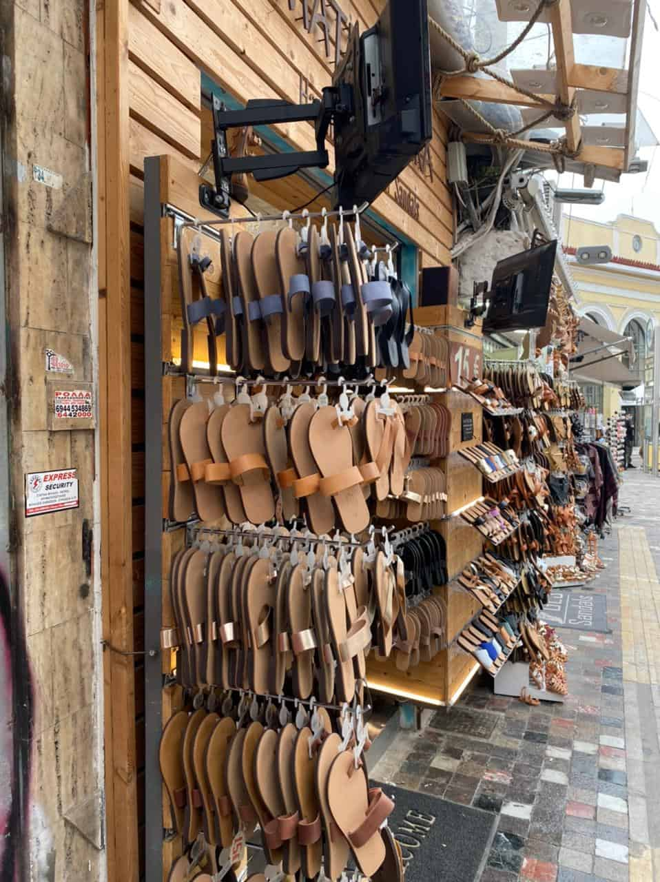 See Monastiraki and Ermou Street on the first day of partial retail reopening 6