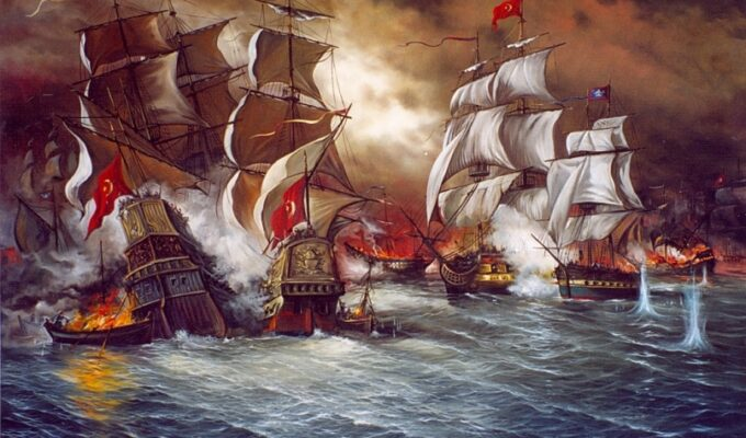 The first Greek naval success since the beginning of the Revolution on this day 11th April 1821 2