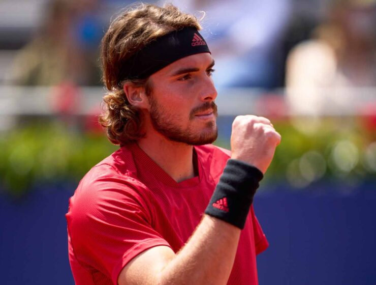 Stefanos Tsitsipas sails past Sinner 6-3, 6-3 and advances to the final in Barcelona 10