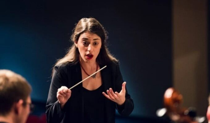 Anna-Maria Gkouni makes history as the Conroe Symphony Orchestra's first female conductor