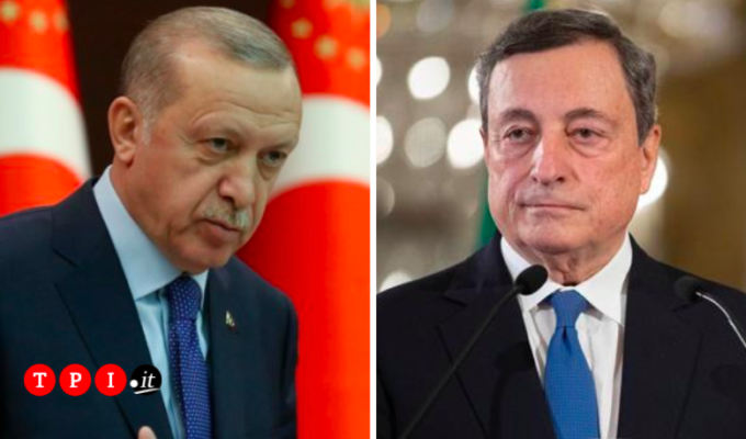 Erdogan Draghi