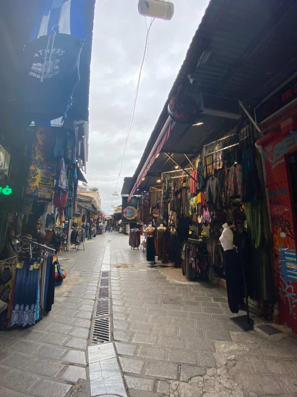 See Monastiraki and Ermou Street on the first day of partial retail reopening 11