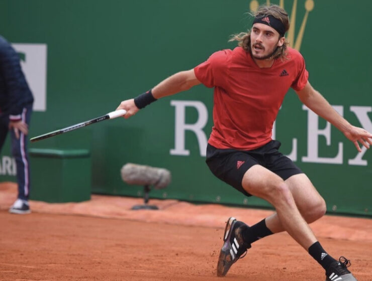 Stefanos Tsitsipas wins the Monte Carlo final
