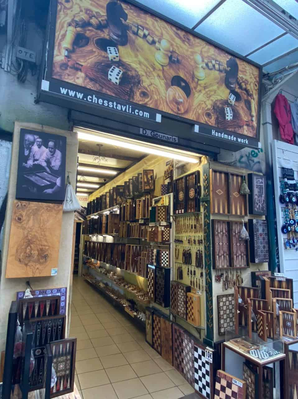 See Monastiraki and Ermou Street on the first day of partial retail reopening 13