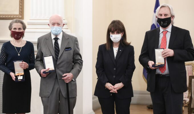 US archaeologists awarded for their contributions to Greece