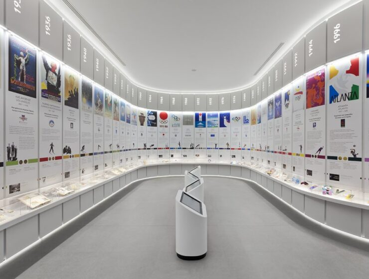 IOC President visits the Olympic Museum of Athens