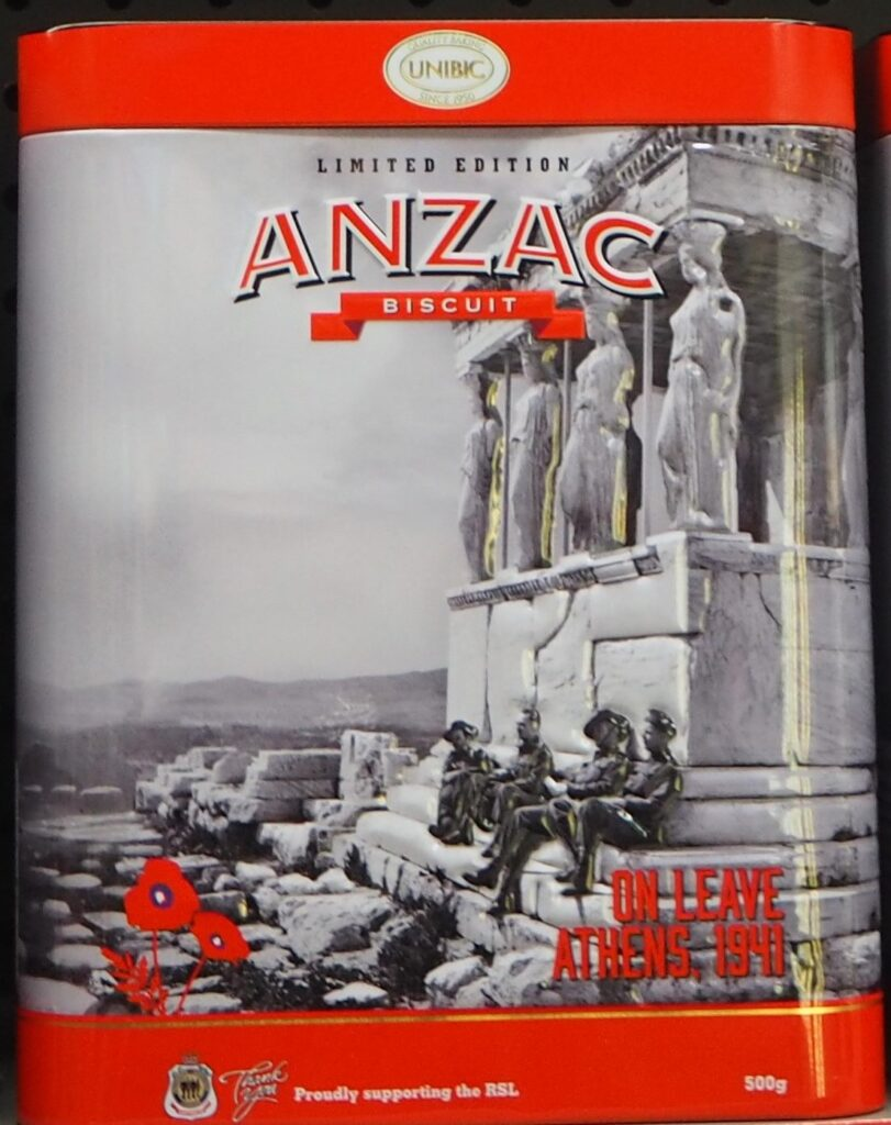 Anzac Biscuit Commemorative Tins 2021