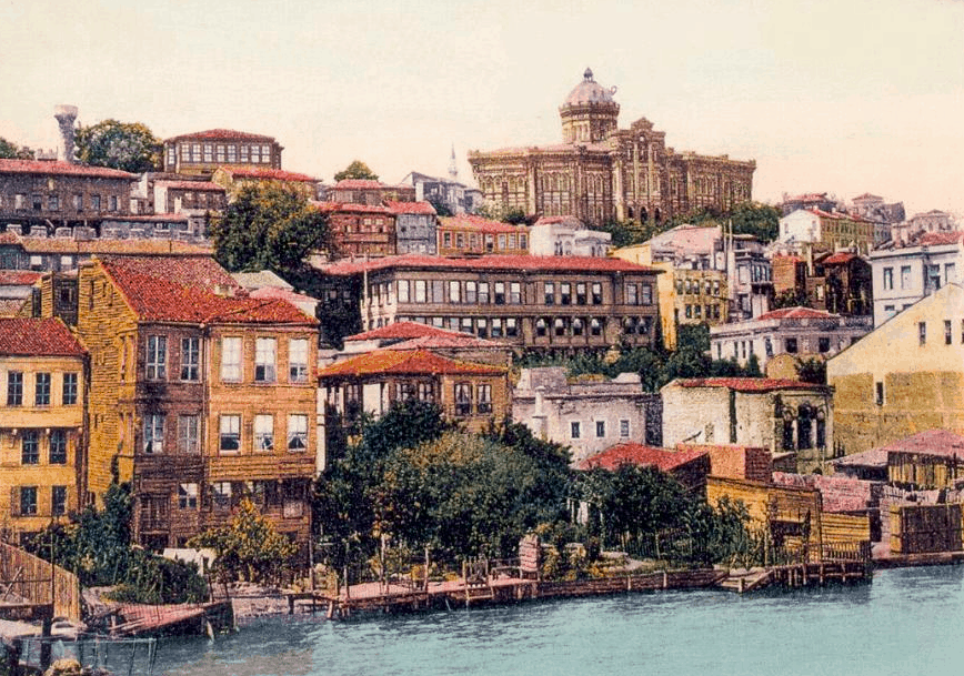 4 April Phanarion quarter, the historical centre of the Greek community of Constantinople in Ottoman times, ca. 1900