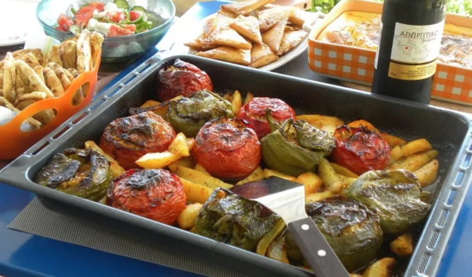 Gemista- Stuffed Vegetables Recipe