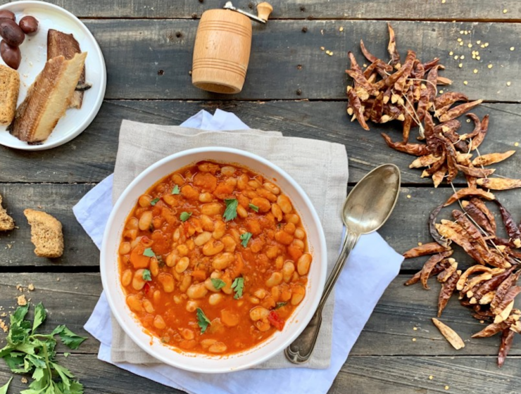 Fasolada- Greek Bean Soup Recipe