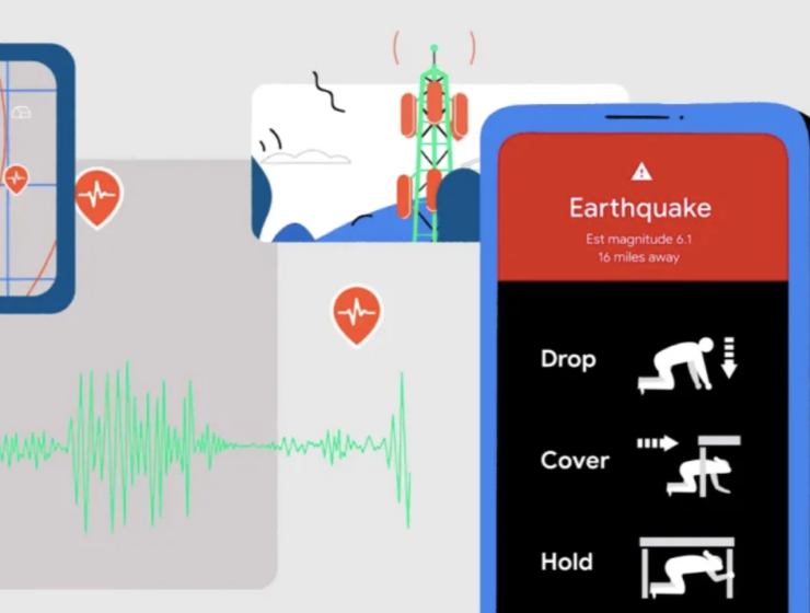 Android phones send out earthquake alerts in Greece and New Zealand