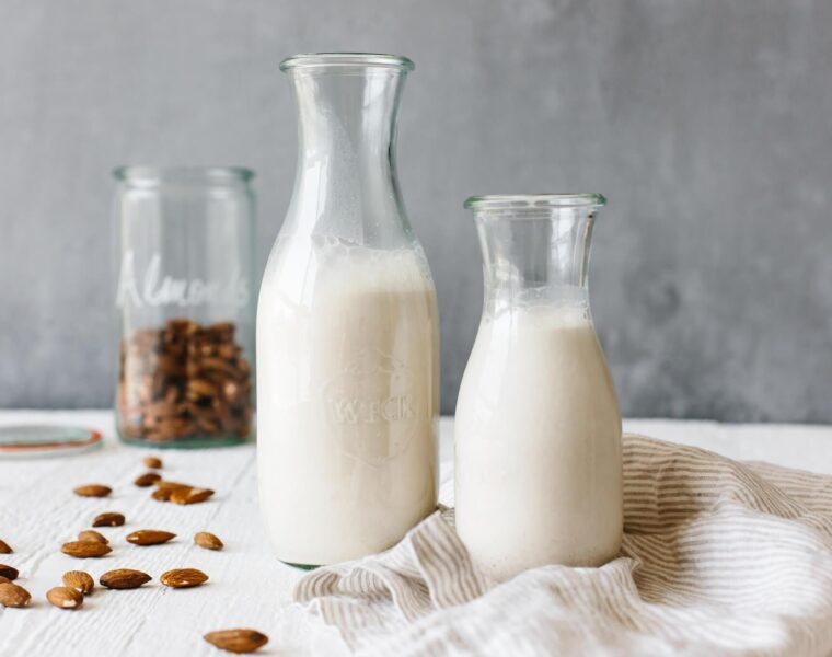 Almond milk has become very popular in the last five years