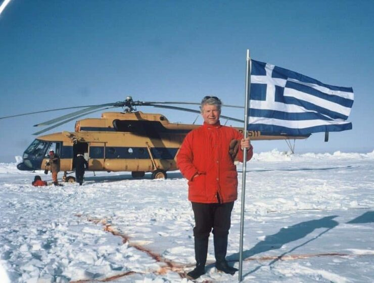 """Babis Bizas, the """"most travelled man on Earth"""""""