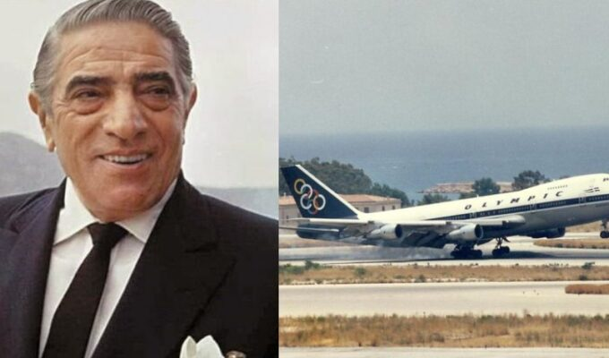 On this day in 1957, Onassis buys Olympic Airways