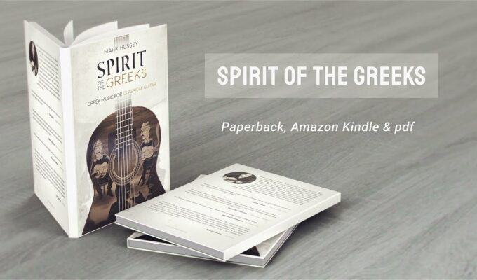 """Spirit of the Greeks"": The amazing new book and album by Mark Hussey 1"