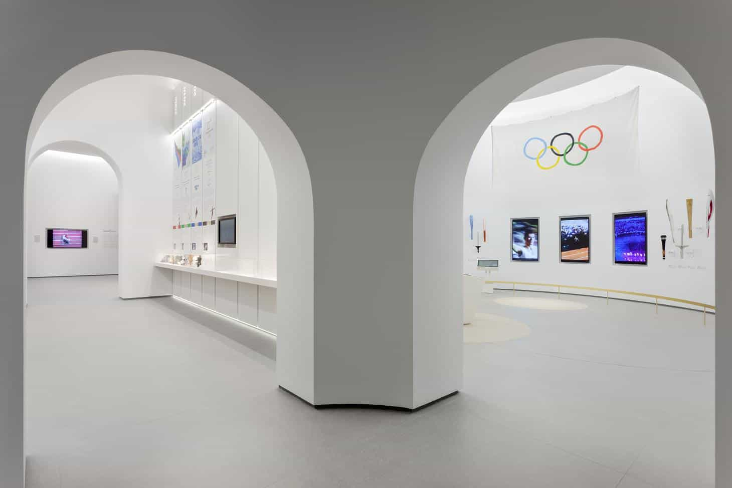 Athens Olympic Museum set to open on Friday in Golden Hall shopping mall 1