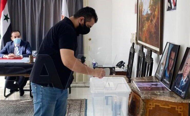 Syrian elections in Cyprus