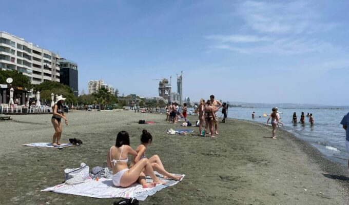 Cyprus battles through first heatwave of the year