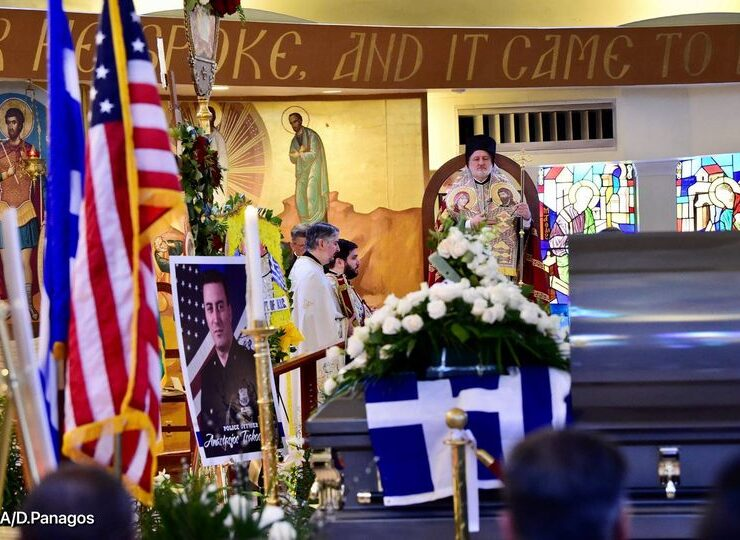 NYPD Officer Anastasios Tsakos laid to rest