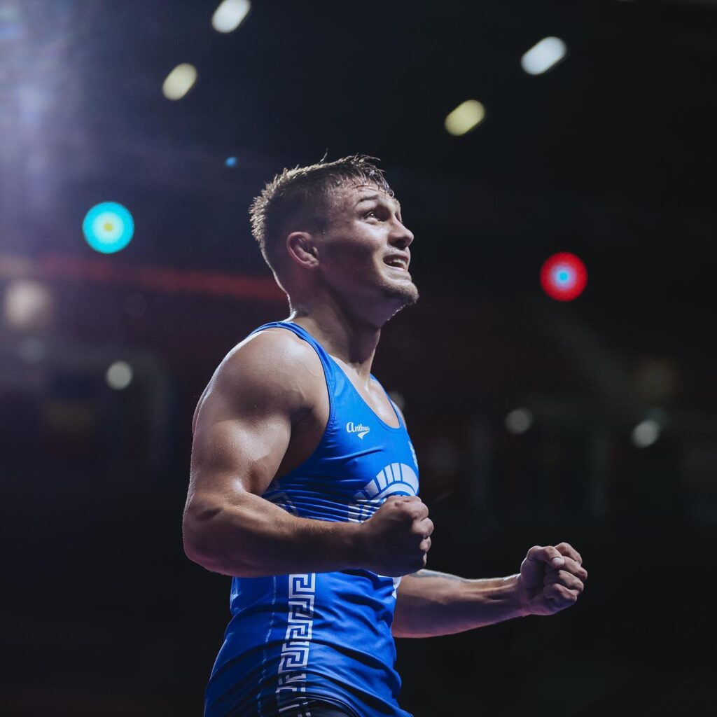 Wrestler Giorgos Pilidis qualifies for the 2021 Tokyo Olympic Games