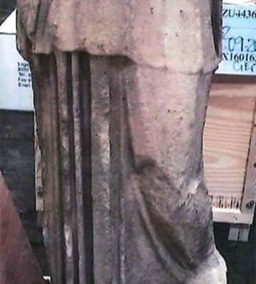 Kim Kardashian DENIES trying to import 'looted' ancient Roman statue (Greek Copy) 1