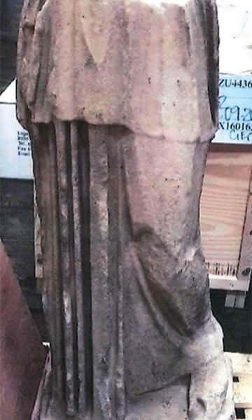 Kim Kardashian DENIES trying to import 'looted' ancient Roman statue (Greek Copy) 22