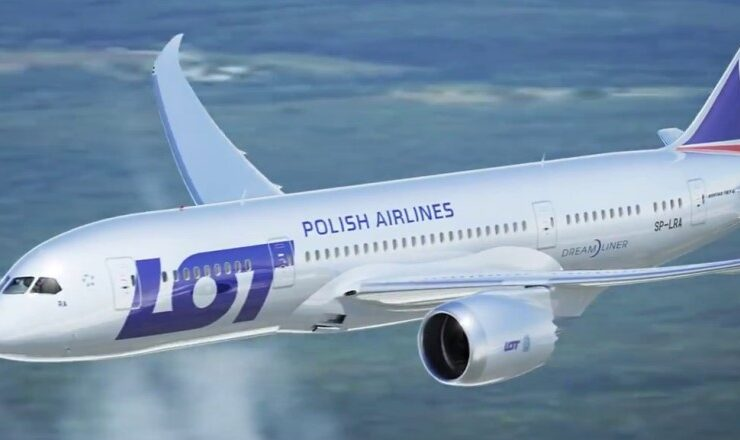 Polish Airlines LOT flights