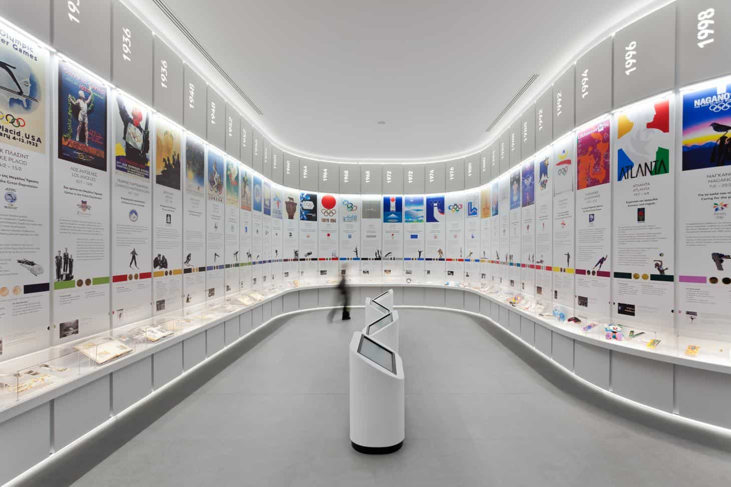 Athens Olympic Museum set to open on Friday in Golden Hall shopping mall 5